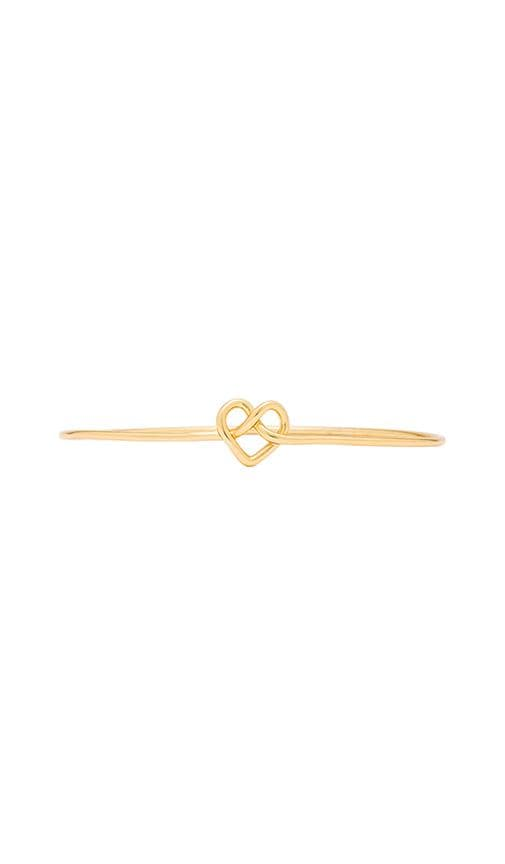 Cross My Heart Bangle