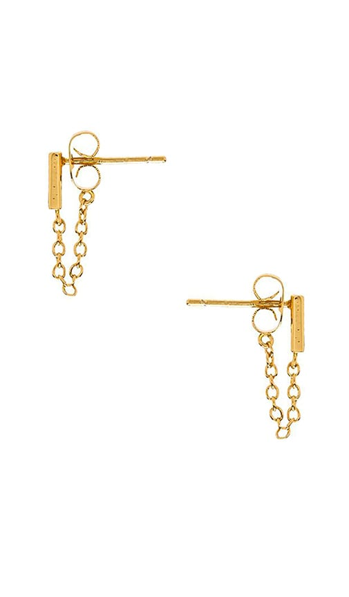 Mave Chain Loop Earrings