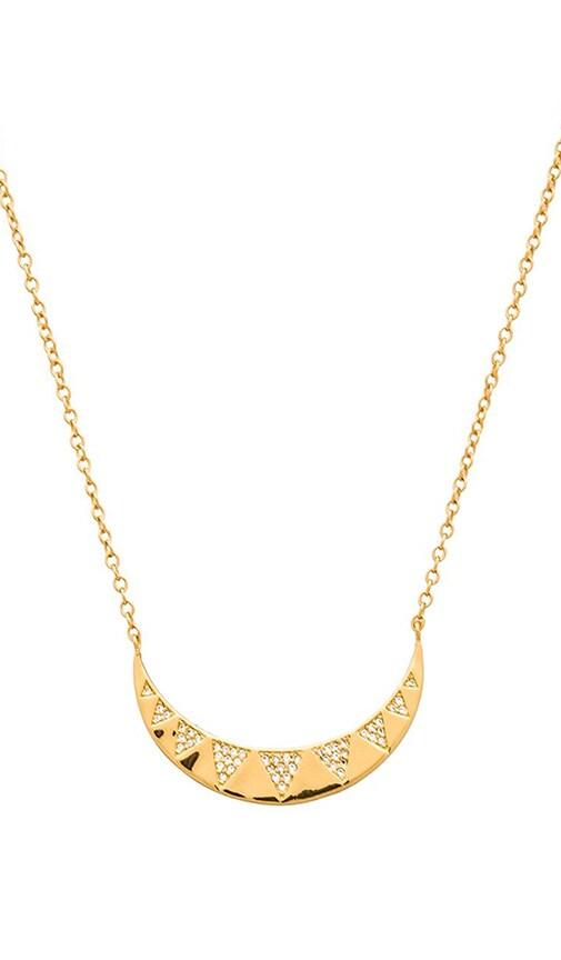 Crescent Shimmer Necklace