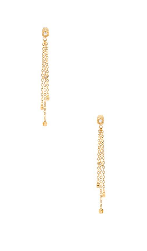 gorjana Siena Drop Earring in Gold