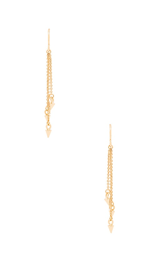 gorjana Cersi Drop Earrings in Gold