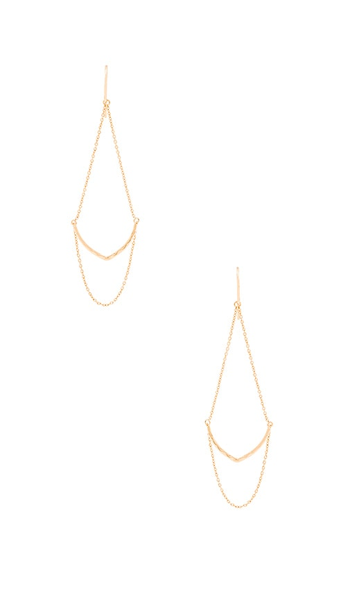 gorjana Amanda Drop Earrings in Gold