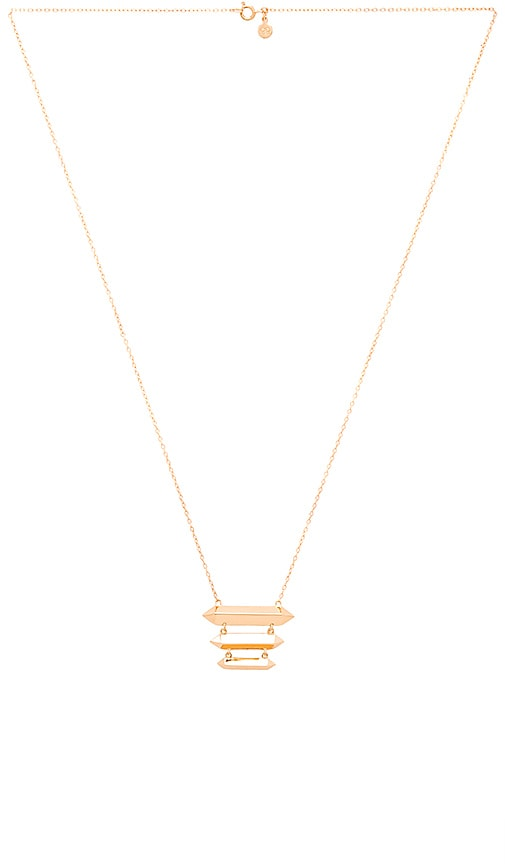 gorjana Layla Tiered Necklace in Gold