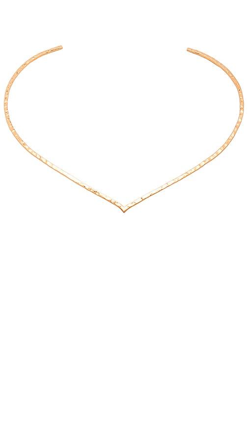 gorjana Amanda Collar Necklace in Metallic Gold