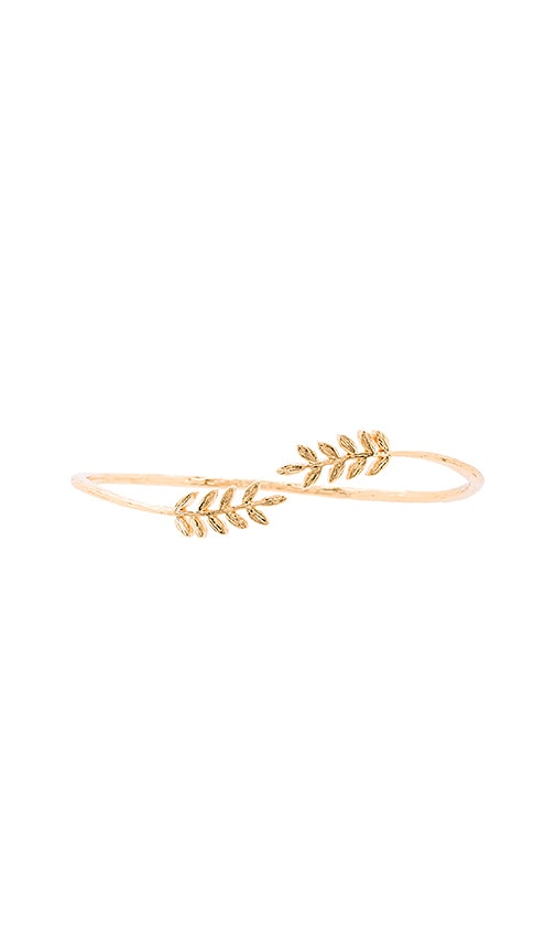 gorjana Olympia Cuff in Metallic Gold