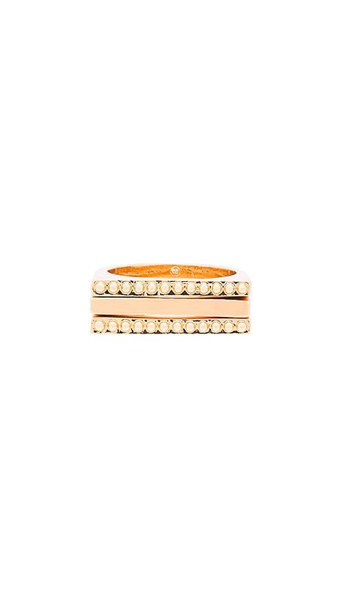 gorjana Bali Ring Set in Gold