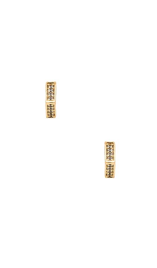 gorjana Cress Shimmer Stud Earring in Gold