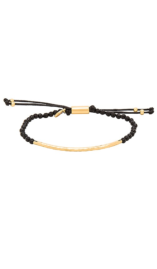 gorjana Taner Gemstone Bracelet in Black