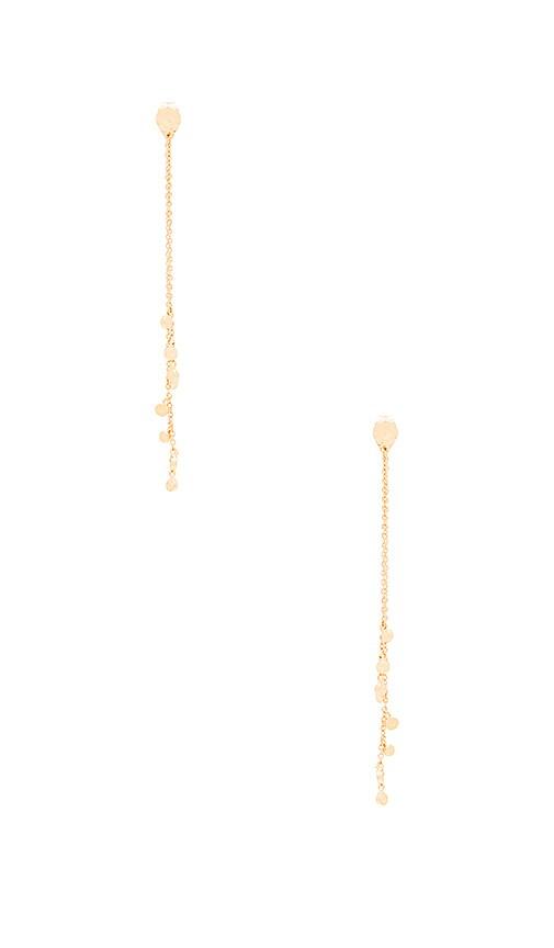 gorjana Chloe Mini Double Drop Earrings in Gold