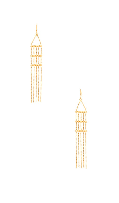 Gold Rush Drop Earring