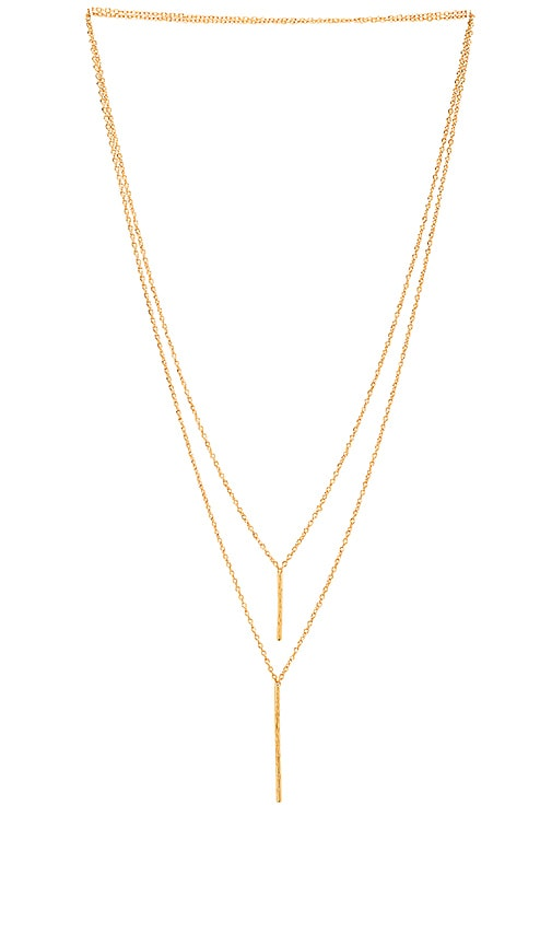 Kiernan Double Pendent Necklace