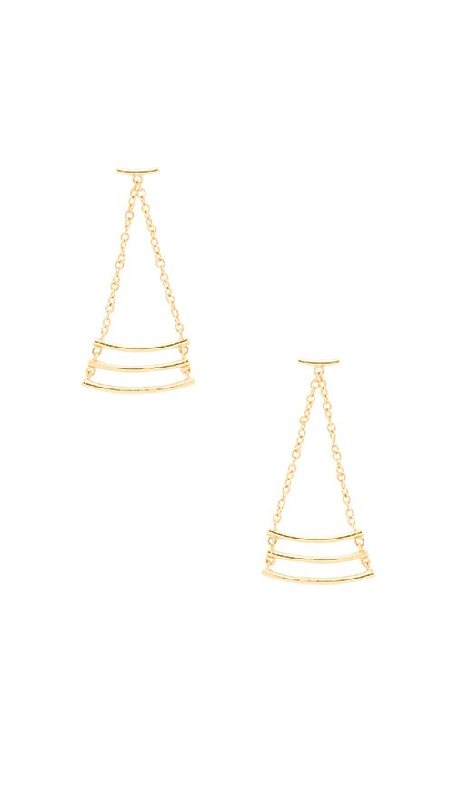 gorjana Carine Earring in Gold