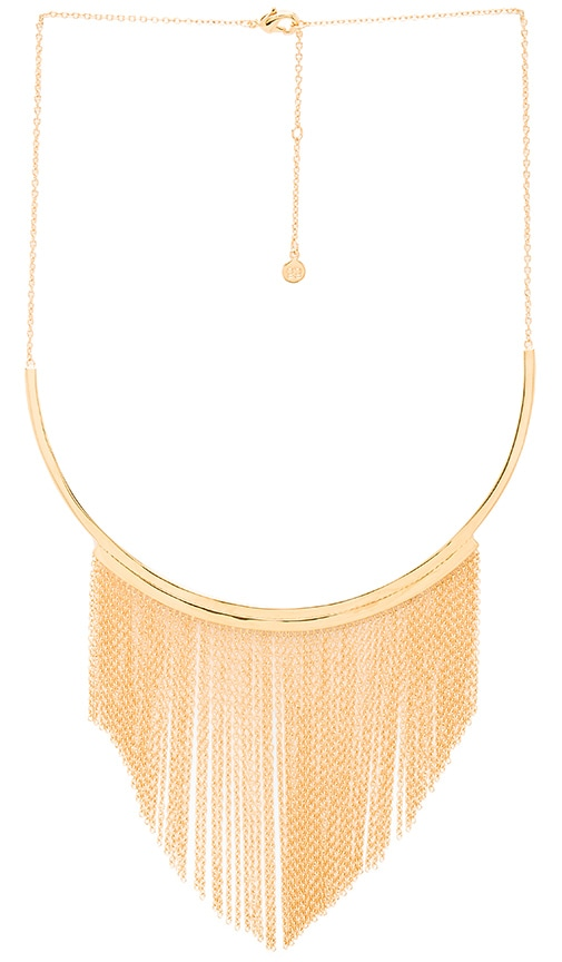 gorjana Meg Collar Necklace in Metallic Gold