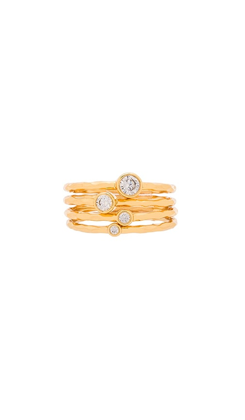 Shimmer Stacking Ring Set