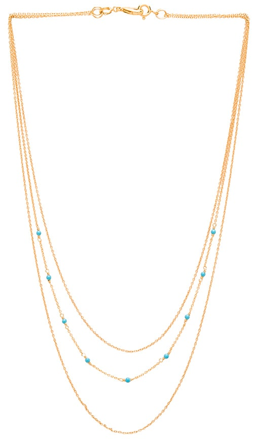 DIY Lagoon Chain 3 Layer Set Necklace