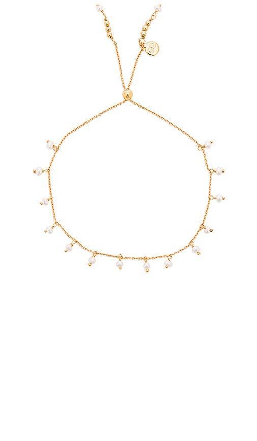 gorjana Pearl Bracelet in Gold & Pearl