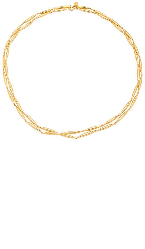 gorjana Emma Wrap Necklace in Metallic Gold