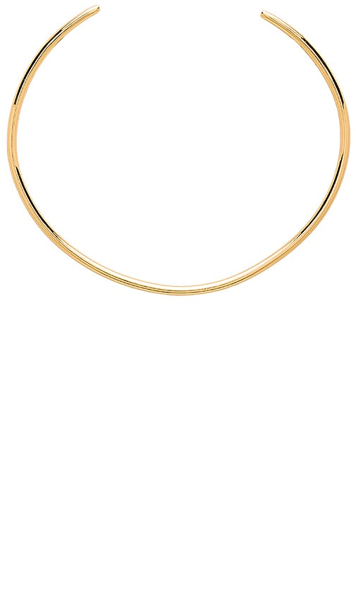 gorjana Emma Collar Necklace in Metallic Gold
