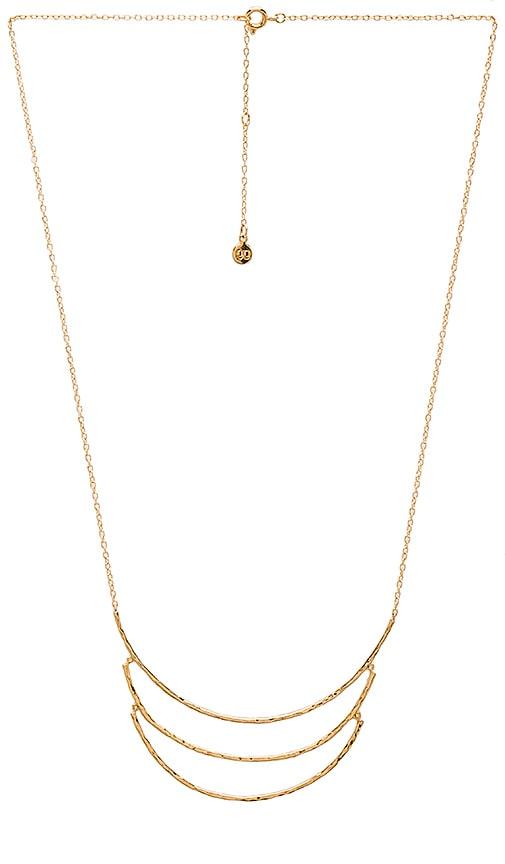 gorjana Lola Necklace in Metallic Gold