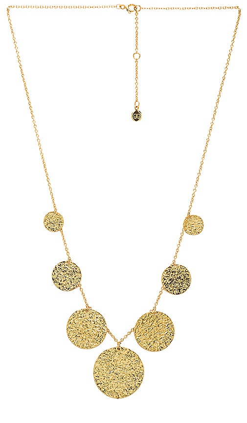 gorjana Faye Necklace in Metallic Gold