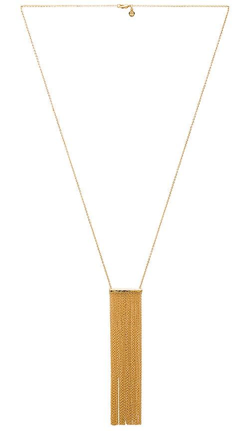 Twiggy Fringe Necklace