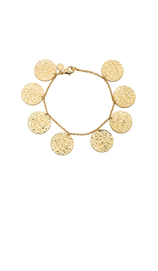 gorjana Faye Bracelet in Metallic Gold