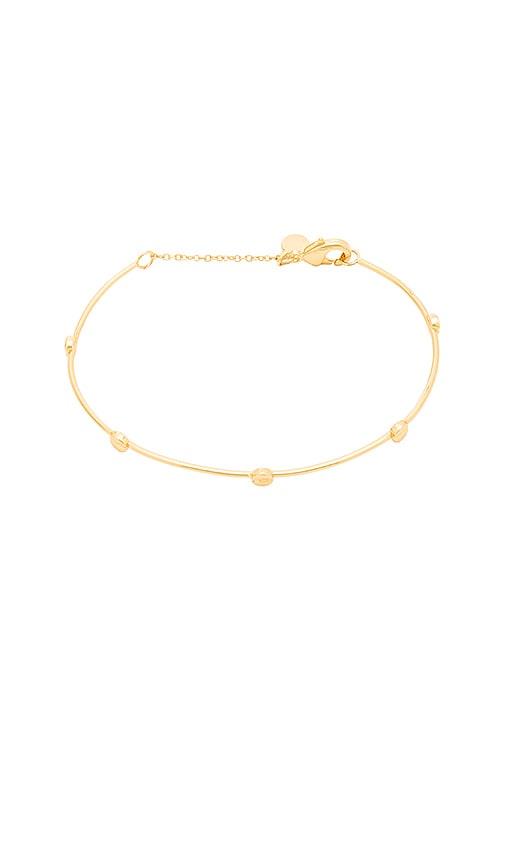 gorjana Chaplin Mini Bracelet in Metallic Gold