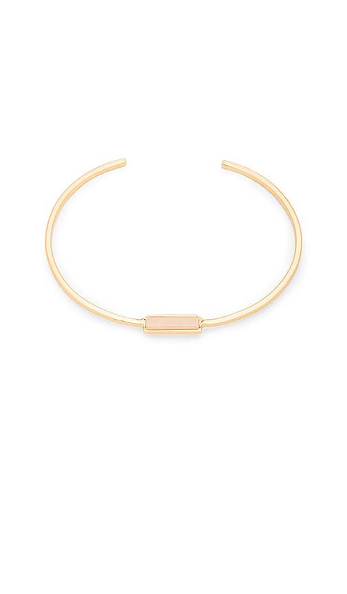 gorjana Dez Bar Cuff Bracelet in Metallic Gold