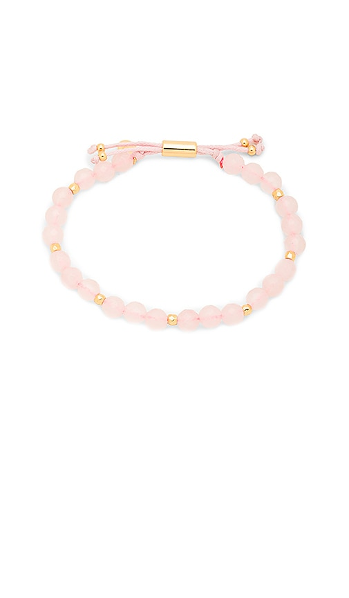 gorjana Power Gemstone Beaded Bracelet in Pink