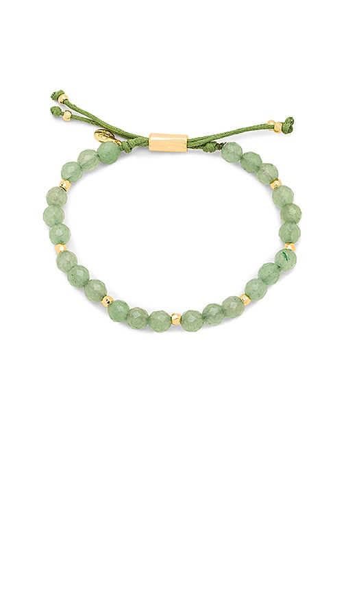 gorjana Power Gemstone Beaded Bracelet in Green