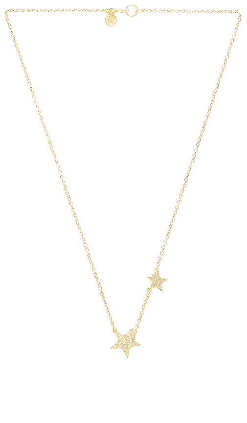 gorjana Super Star Necklace in Metallic Gold