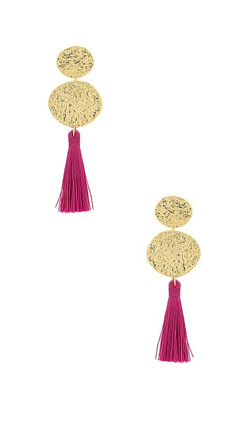 gorjana Phoenix Stud Earrings in Metallic Gold