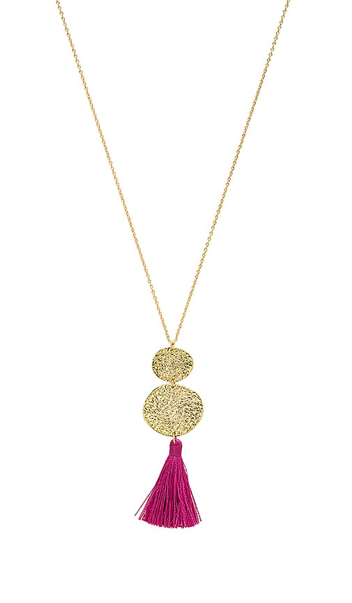 gorjana Phoenix Pendant Necklace in Metallic Gold