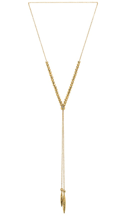 gorjana Laguna Large Necklace in Metallic Gold