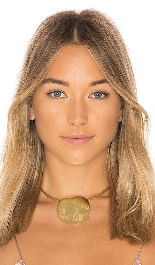 gorjana Chloe Statement Choker in Metallic Gold