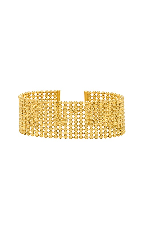 gorjana Newport Link Bracelet in Metallic Gold