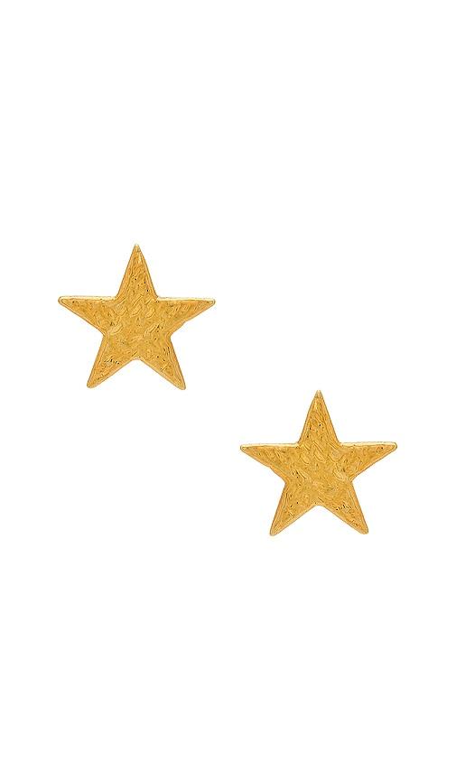 gorjana Star Stud in Metallic Gold