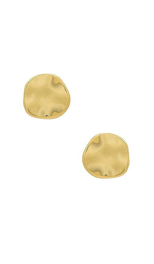 gorjana Chloe Stud in Metallic Gold