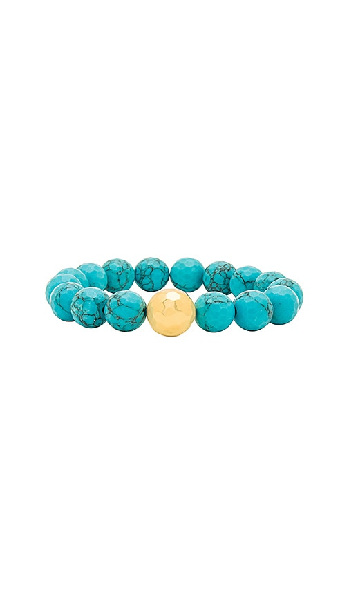 gorjana Power Gemstone Statement Bracelet in Turquoise