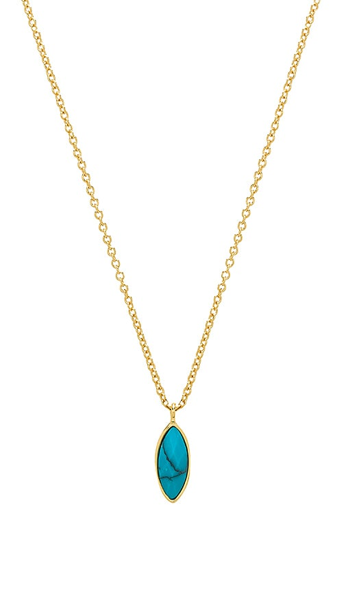 gorjana Palisades Adjustable Charm Necklace in Gold