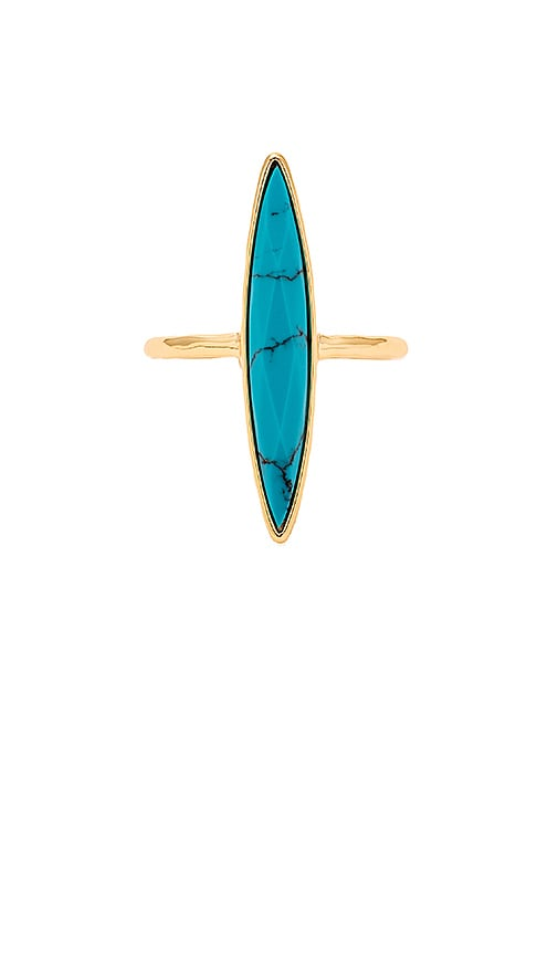gorjana Palisades Statement Ring in Metallic Gold