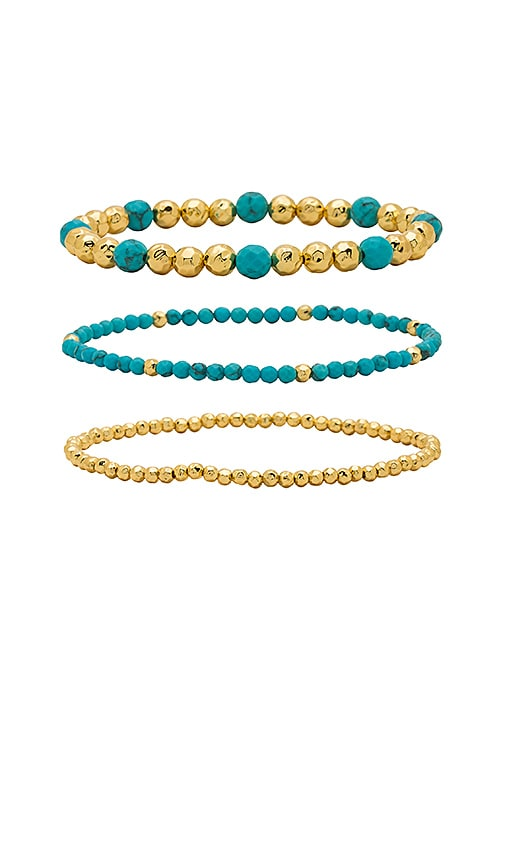 gorjana Gypset Bracelet Set in Gold