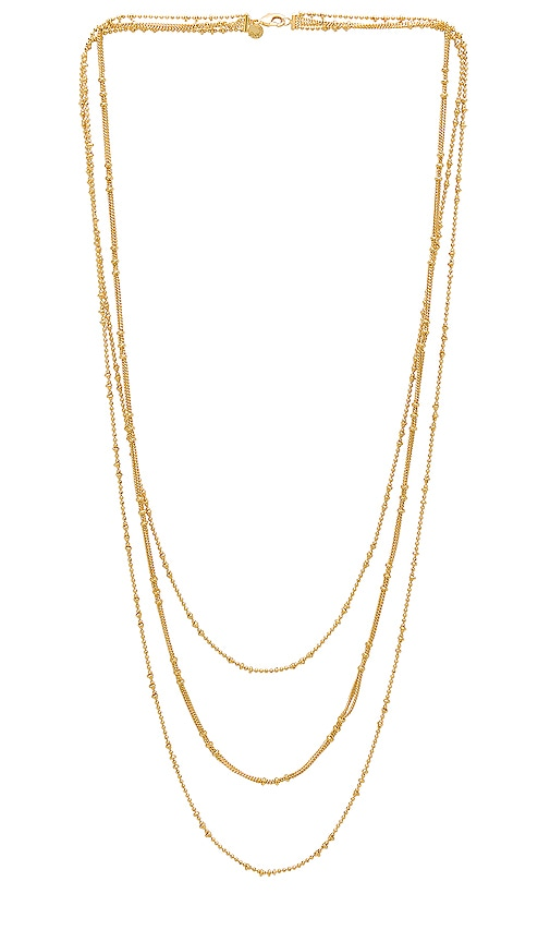 gorjana Margo Chain Layered Necklace in Gold