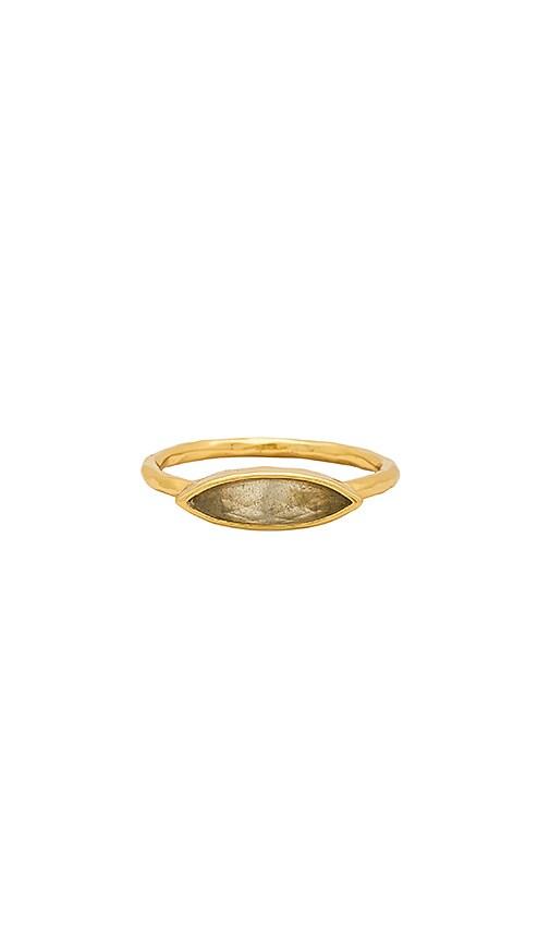 gorjana Palisades Ring in Metallic Gold