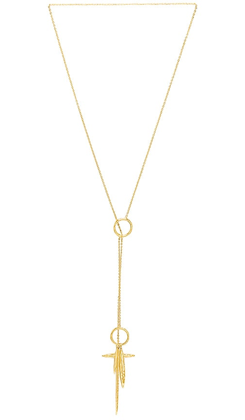 gorjana Nora Toggle Necklace in Gold