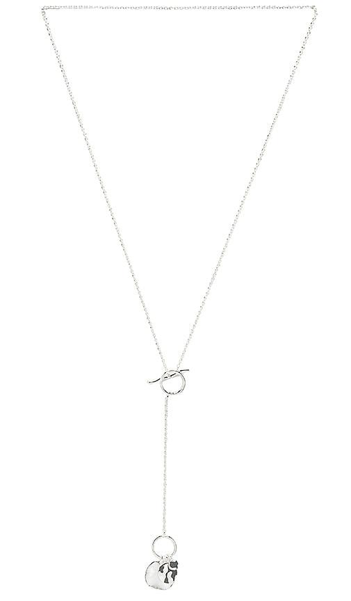 gorjana Chloe Toggle Necklace in Silver