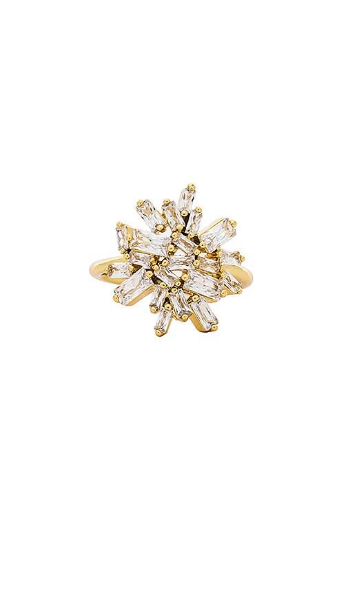 gorjana Amara Cluster Ring in Metallic Gold