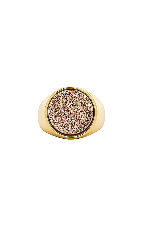 gorjana Astoria Statement Ring in Metallic Gold