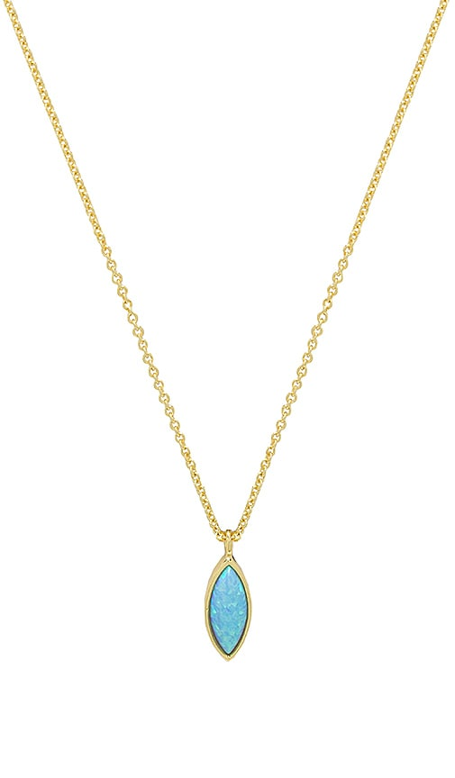 gorjana Rumi Adjustable Necklace in Metallic Gold