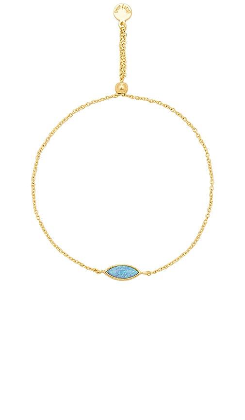 gorjana Rumi Adjustable Bracelet in Metallic Gold